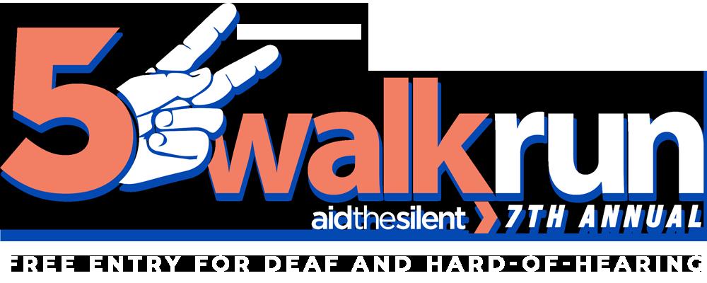 7th Annual 5K RunWalk - Aid the Silent